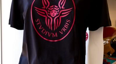 T-Shirt cherubino nera