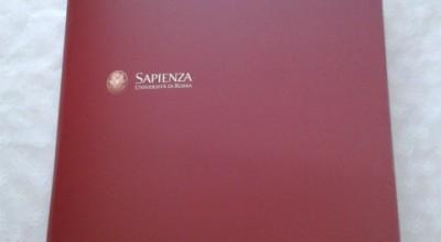Cartellina istituzionale Sapienza