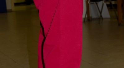 Pantalone felpa unisex - colore bordeaux