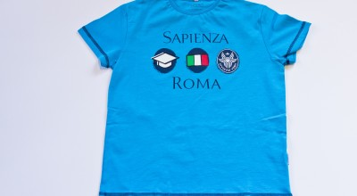 T-Shirt bimbo - azzurro