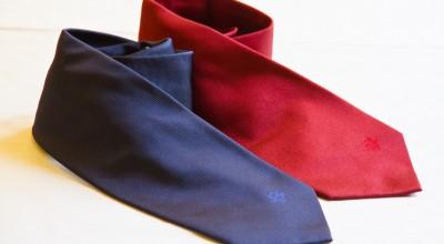 100 silk tie mod. -7 folds - solid color