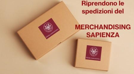 Sapienza Merchandising shipments resume!